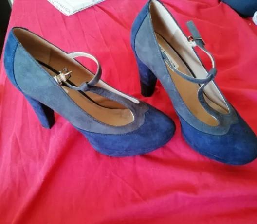 Salto Alto Preto Forever 21 Número 34   Sapato Feminino