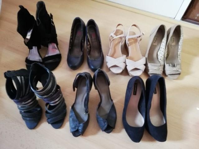 Compre Azul Royal Lace Sapatos De Casamento 14 Cm Super