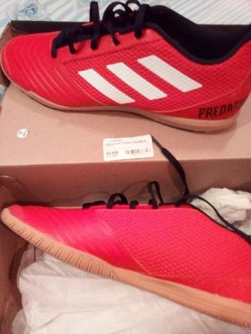 Chuteira Futsal Adidas Ace 17.3 IN Verde e Preto