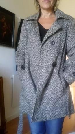 Blusão Senhora Lauren Ralph Lauren Double Breasted Wool